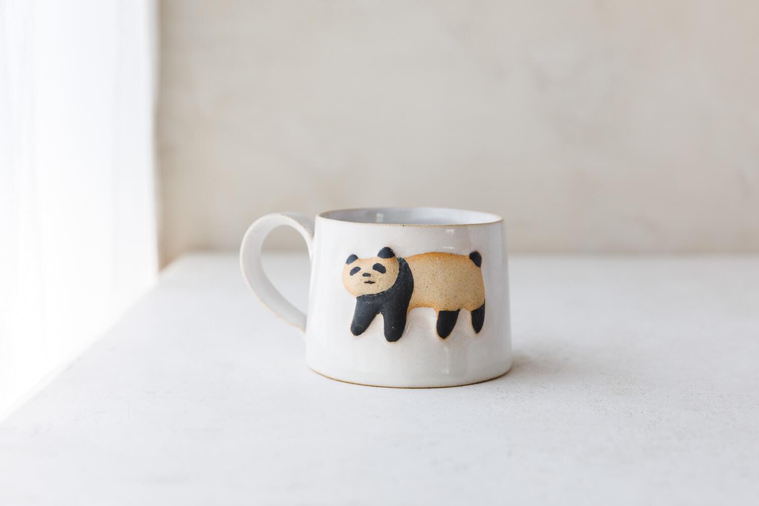 p&A 通販 パンダ マグカップ