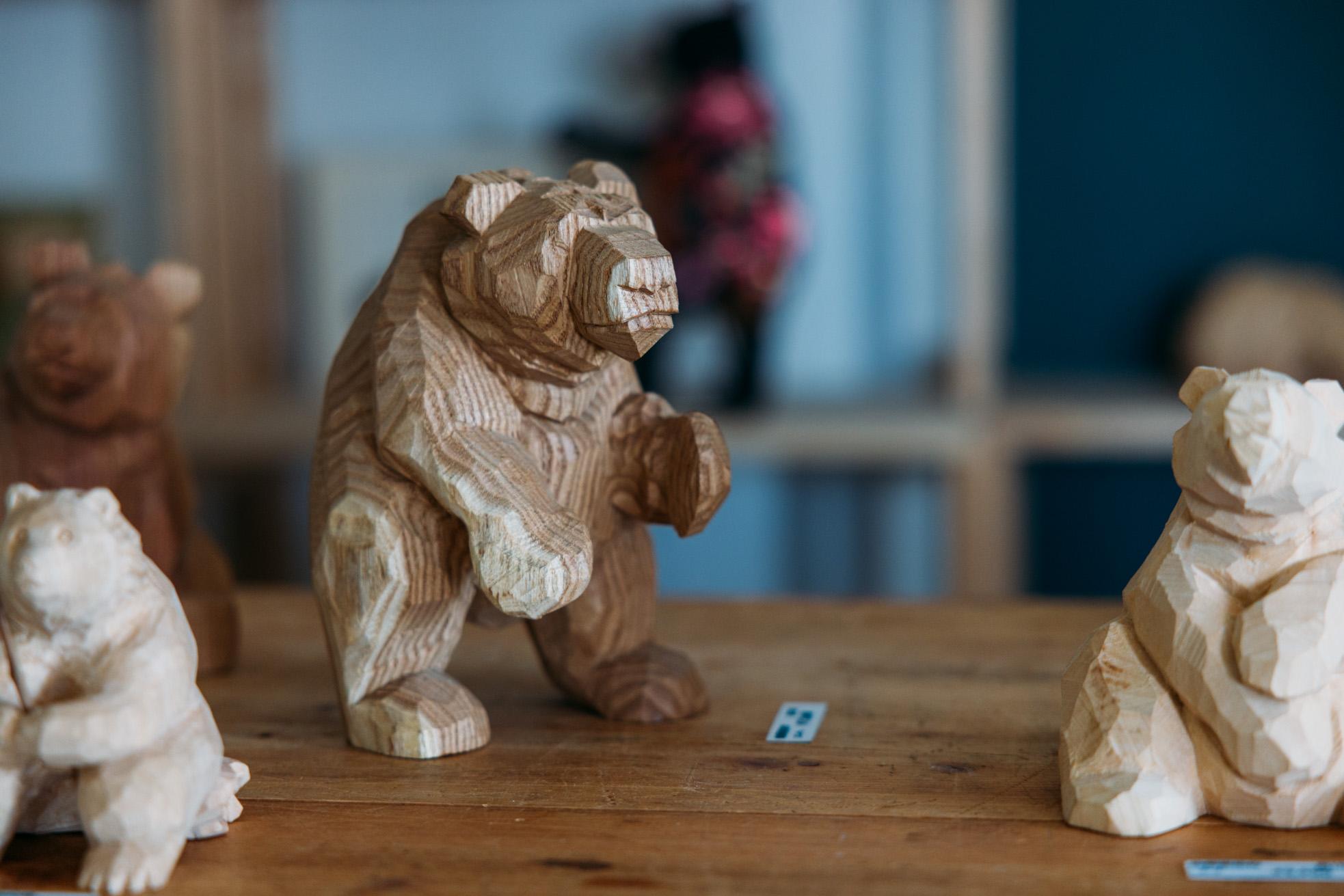 木彫り熊 通販